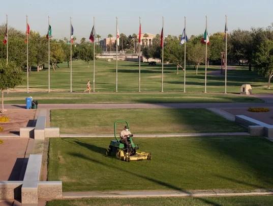 hance park lawn
