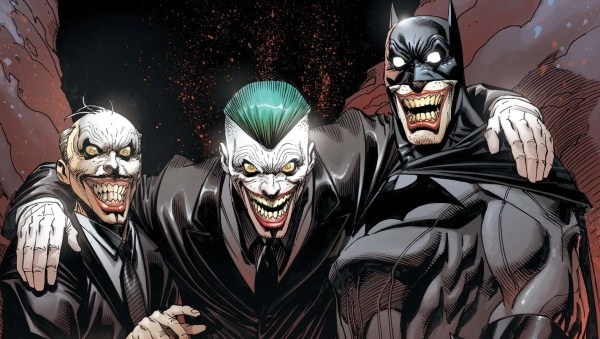 Batman and Joker Comic