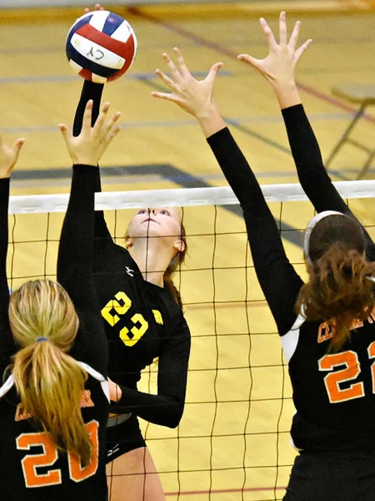 Red Lion vs Central York girls volleyball 09/23/2015