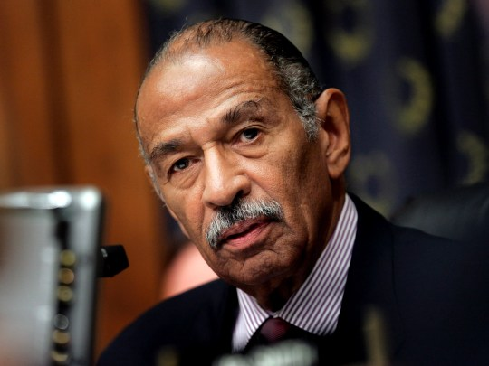 U.S. Rep. John Conyers, D-Michigan,is seen on Capitol Hill on July 25, 2007.