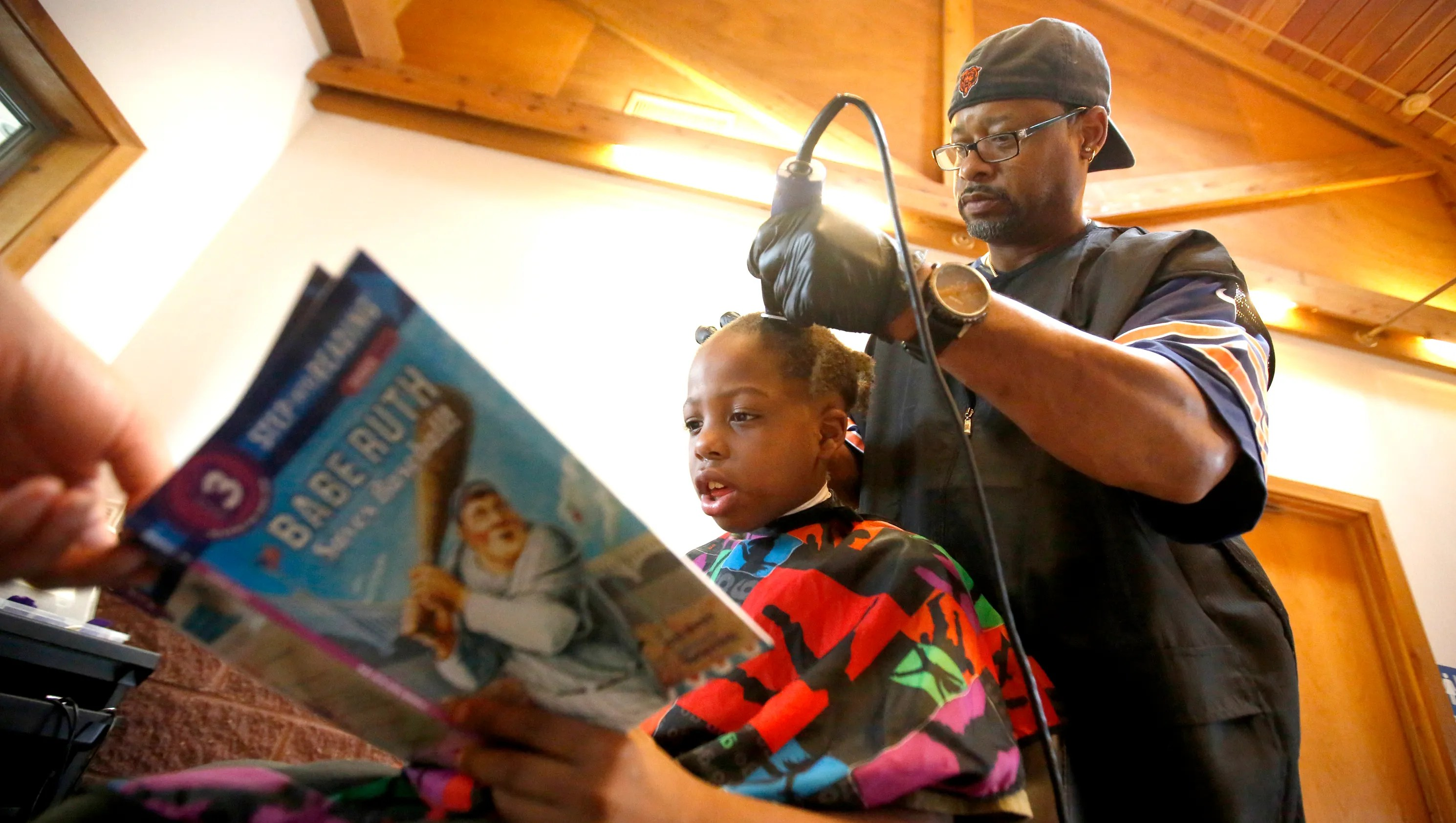 Iowa barbers deal for kids Read for haircut