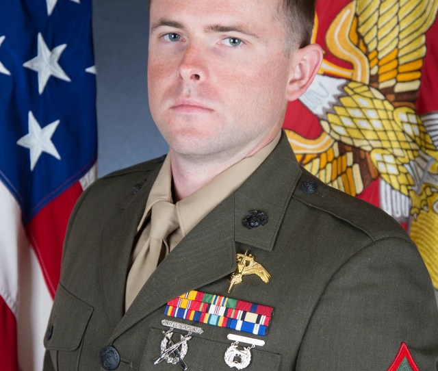 Police To Escort Marines Funeral Procession From Ventura To Santa Paula
