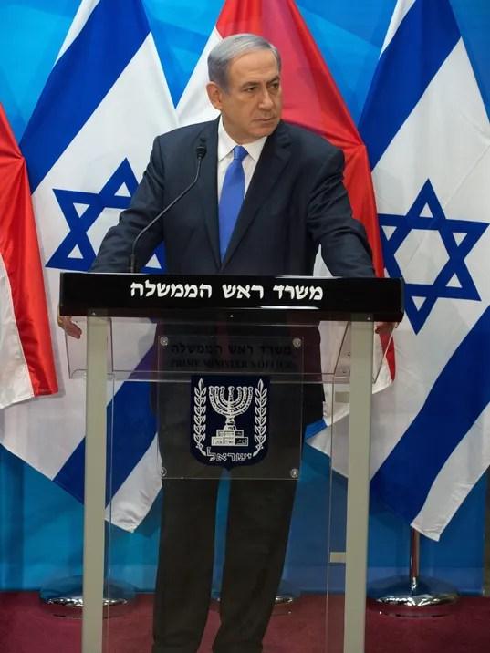 EPA ISRAEL NETANYAHU PRESSER POL GOVERNMENT ISR