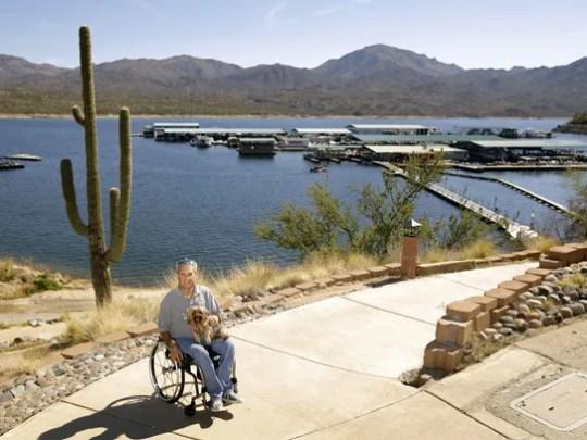 Bryan Church, seen in 2016, owns the Bartlett Lake