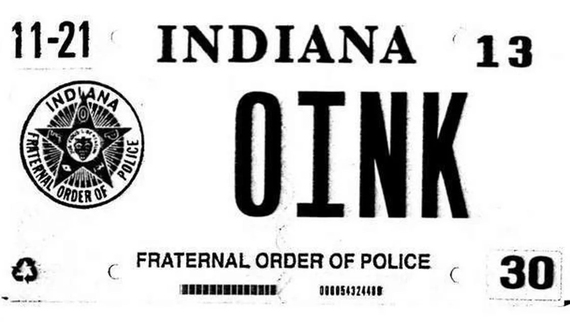 Judge rules against Indiana BMV in '0INK' license plate case