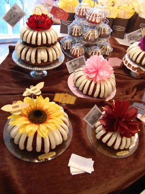 Nothing Bundt Cakes specializes in one thing: bundt cakes, topped with its signature cream cheese frosting. You can get a cake for and everyday treat or have one decorated for your special occasion.