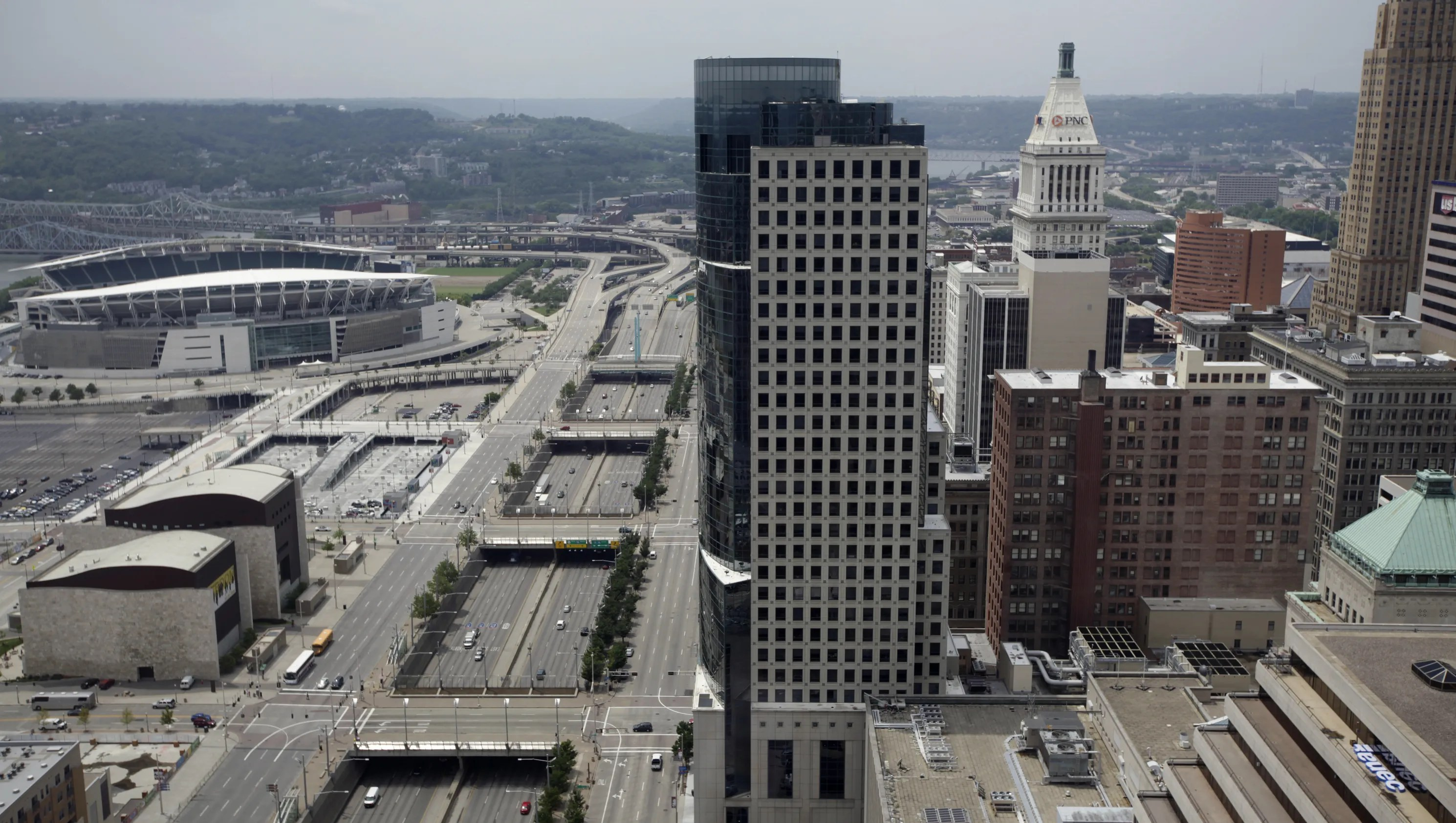 With money Fort Washington Way could look to I670 in