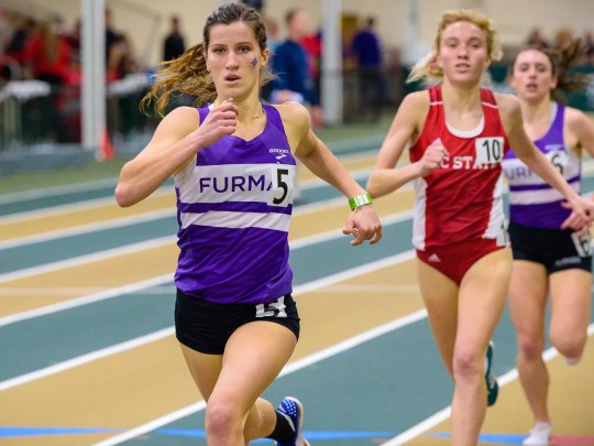 Furman University freshman Krissy Gear, a Fort Myers