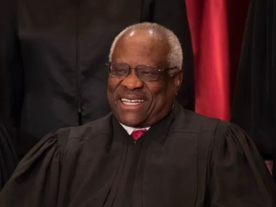 Supreme Court Justice Clarence Thomas had a difficult