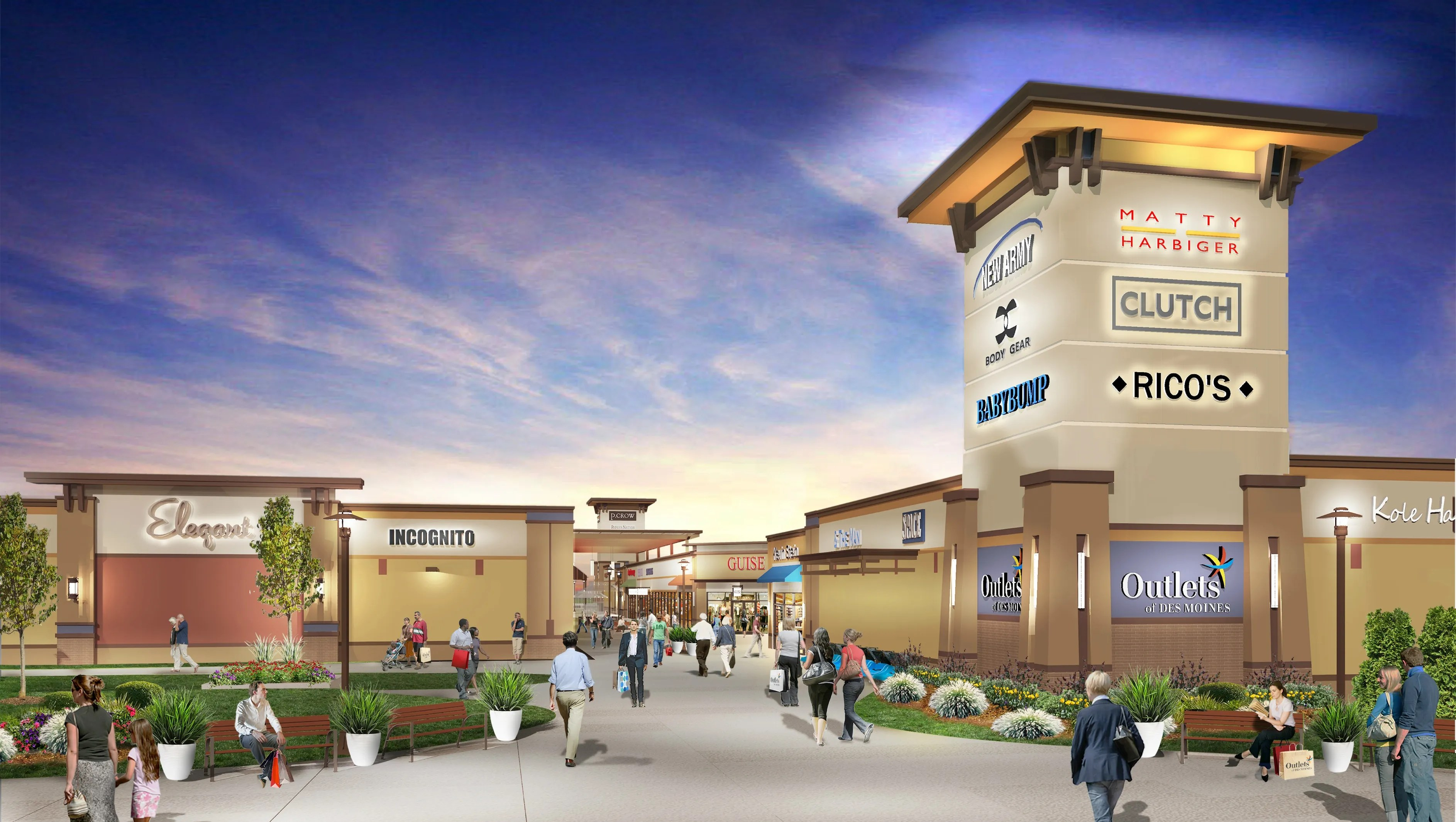 Exclusive Altoona Outlet Mall Signs 24 Stores. '