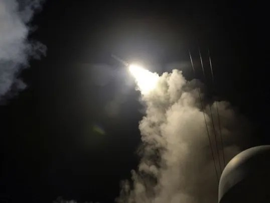 U.S. airstrike on Syria