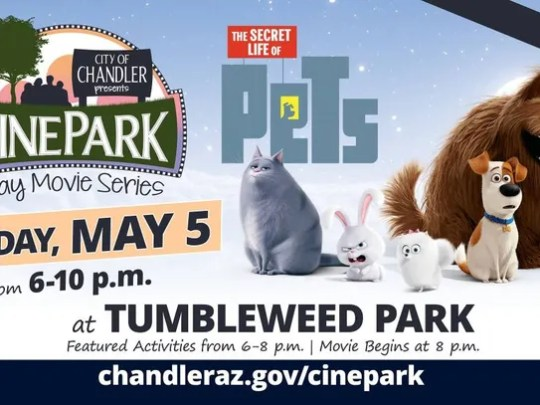 """Watch """"The Secret Life of Pets"""" at Chandler's Tumbleweed"""