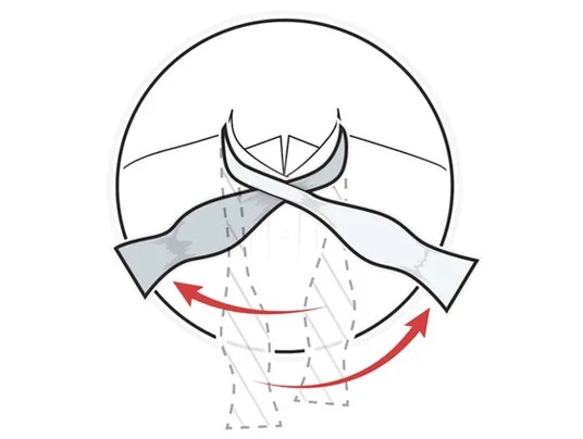 Visual guide: How to tie a bow tie