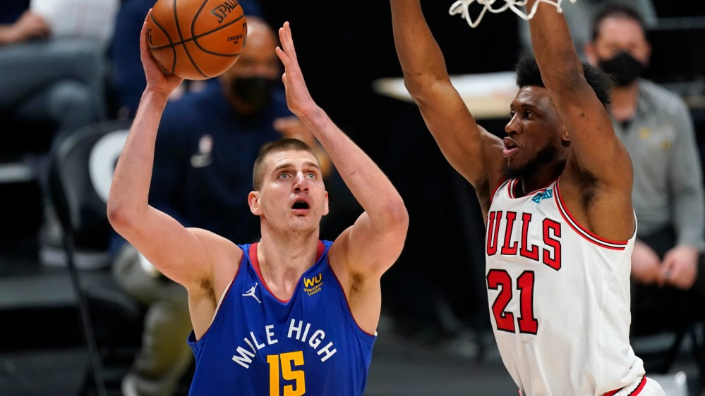 Murray scores 34 points, Nuggets beat Bulls 131-127 in OT