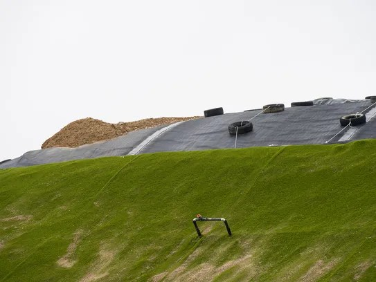 The Environmental Waste Solutions landfill site in