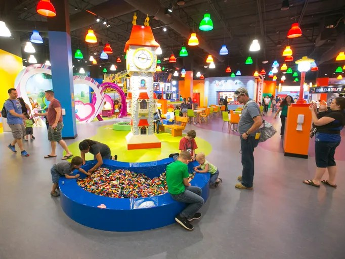 Sneak peek Inside the Legoland Discovery Center at