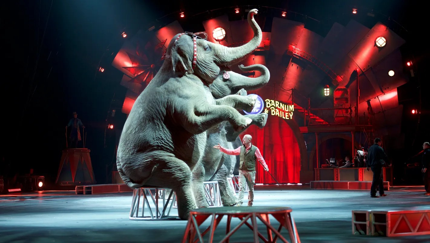 Ringling Elephants Perform Last Show End 145 Year Run