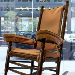 Kennedy Rocking Chair Black White Dining Jfk Other Items Up For Auction