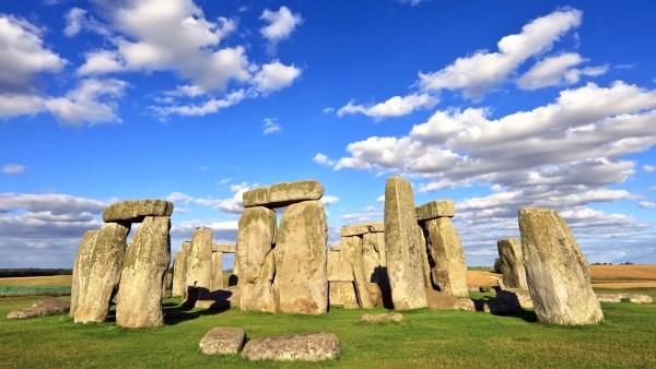 Ancient Monument Of Stonehenge