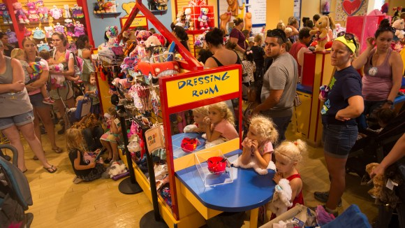Build-A-Bear Workshop offered customers a chance to