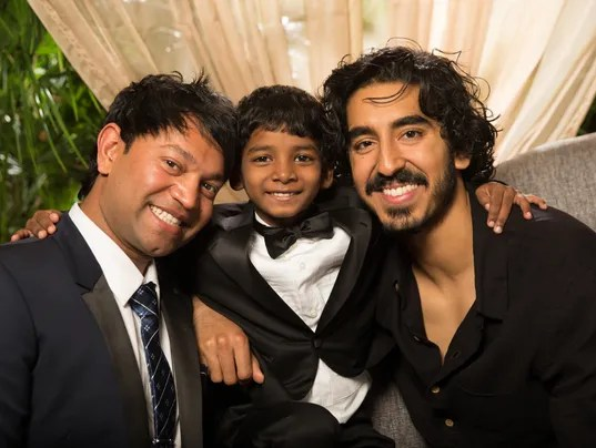 Image result for dev patel and sunny pawar