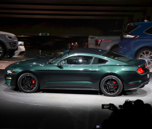 Ford Reveals The  Mustang Bullitt During The North