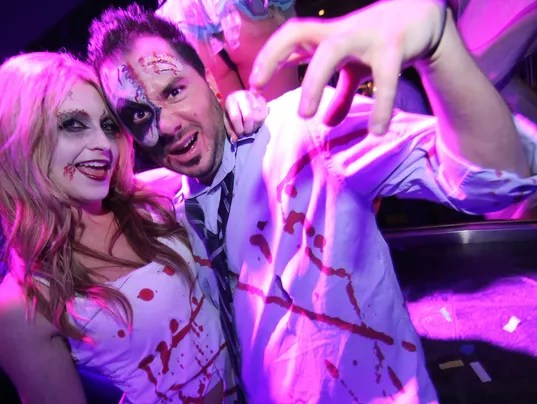 Halloween Couple_Moon Nightclub