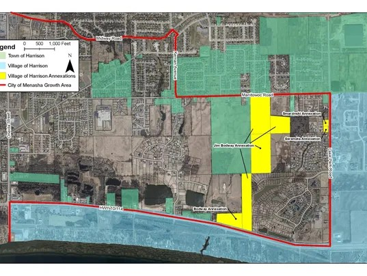 Neighbors spar with Harrison over annexations