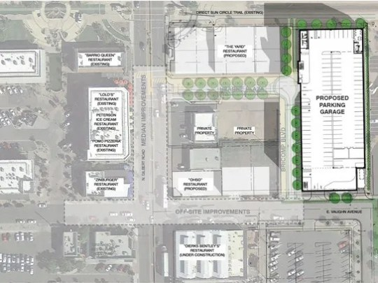 The Gilbert Town Council may approve a second parking