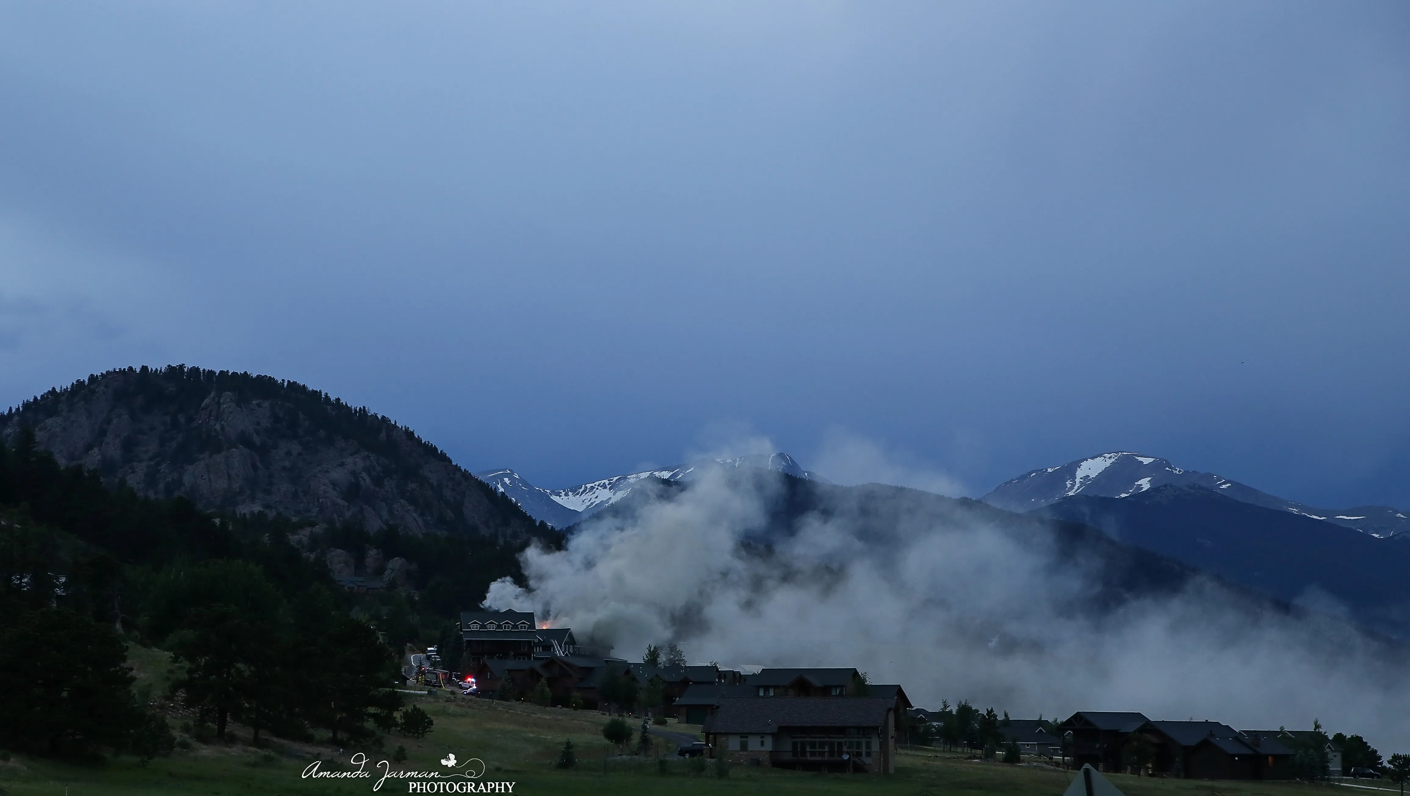 Marys Lake Lodge Fire In Estes Park Interrupts Wedding Of