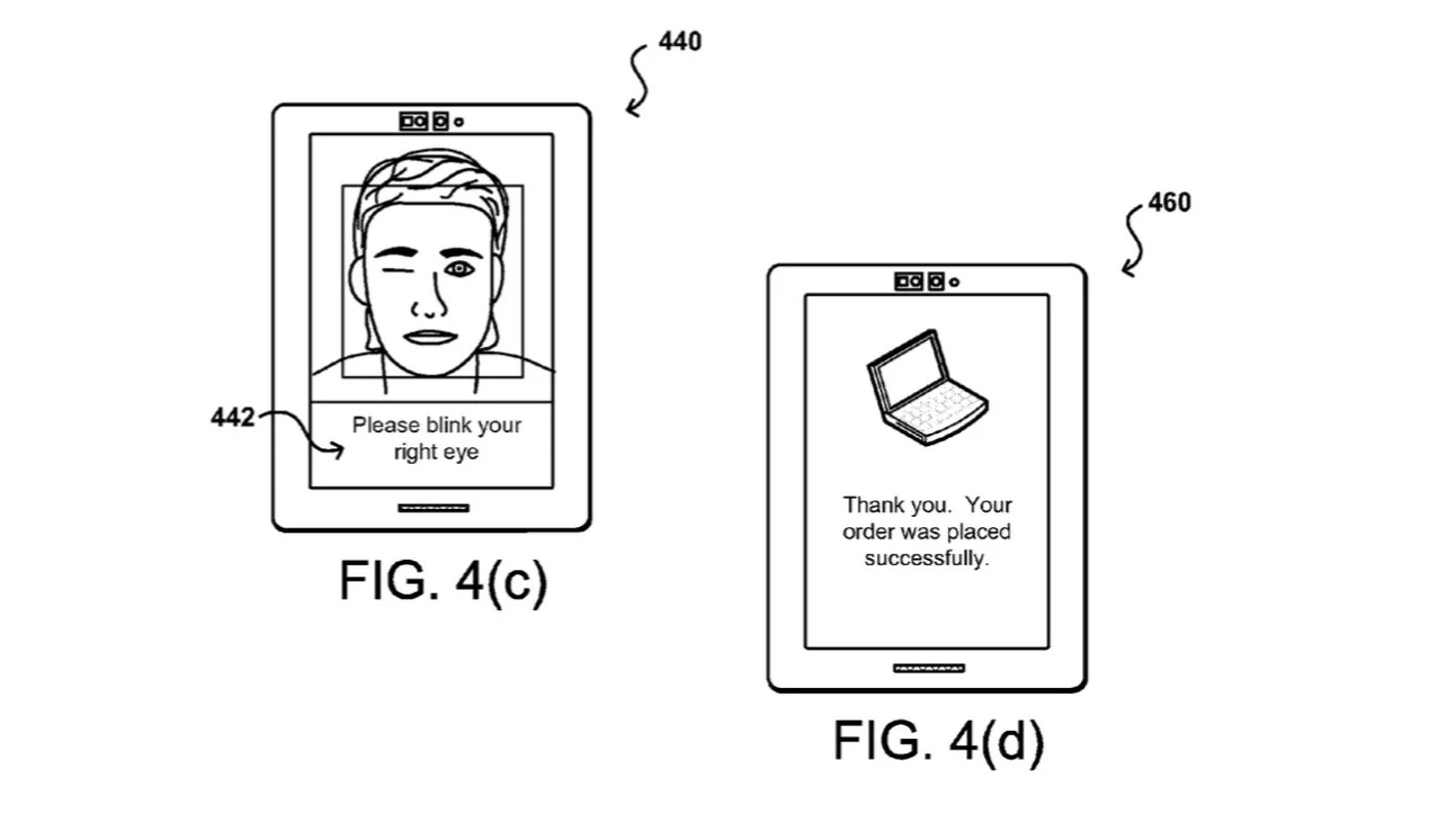 Amazon files patent for pay by selfie