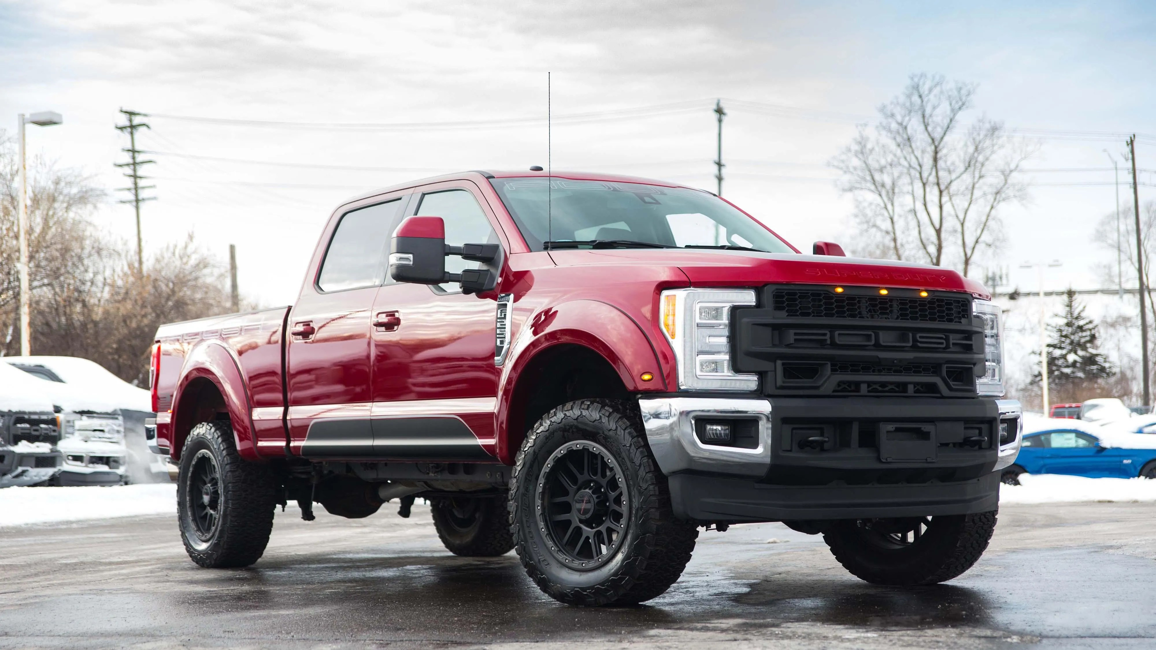 roush unleashes the beast in the ford super duty f 250 [ 3200 x 1680 Pixel ]