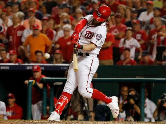 Bryce Harper has already awarded Rookie of the Year, an MVP award and six All-Star options in seven seasons.