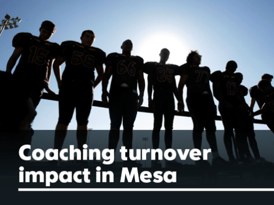 Once upon a time Mesa schools were led by longtime