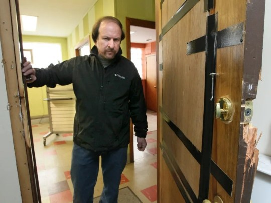 Dave Salkin inadvertently rented his building in Milwaukee