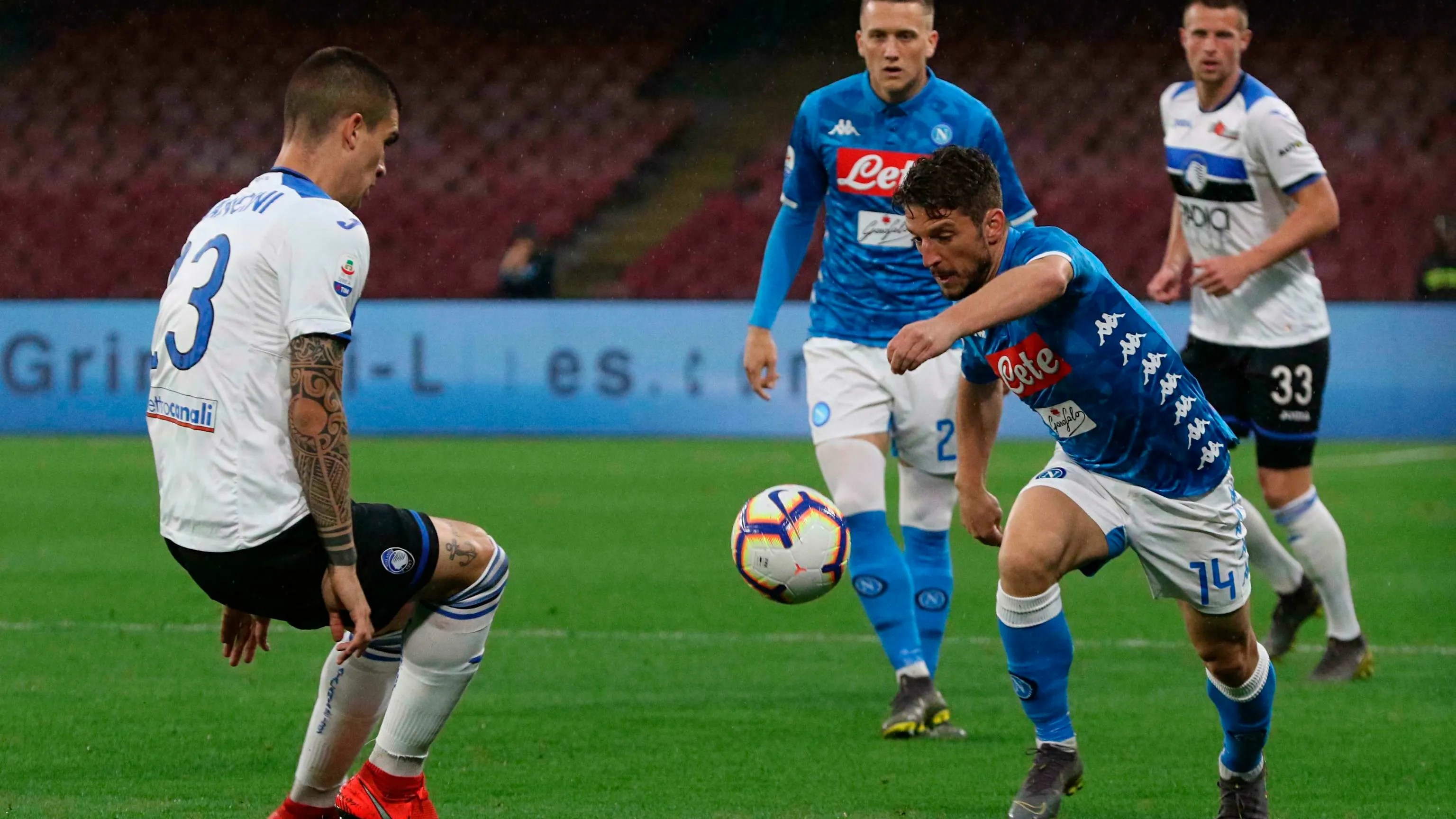 Atalanta Into Champions League Contention With Win At Napoli