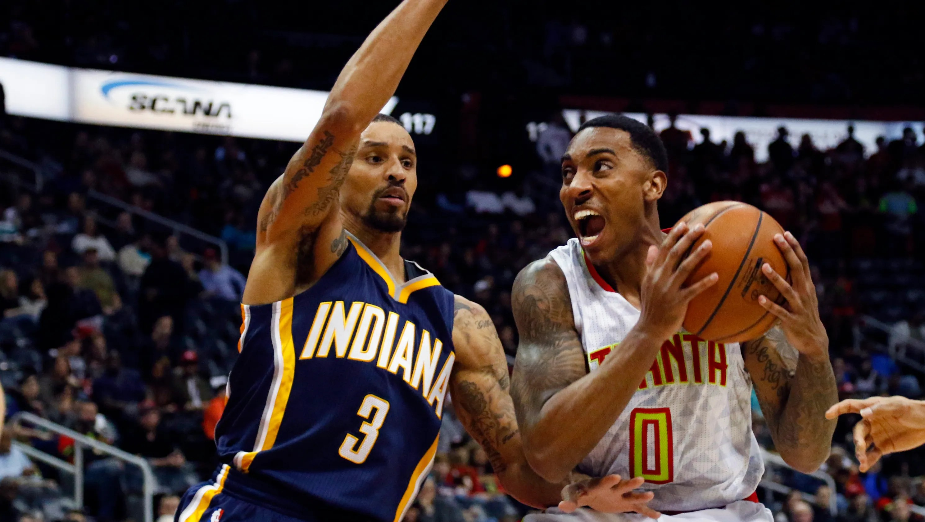 Indiana Pacers acquire Jeff Teague trade George Hill