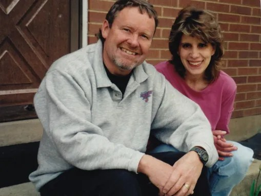 Terry Hawks poses with his daughter Aleena Hawks. Terry