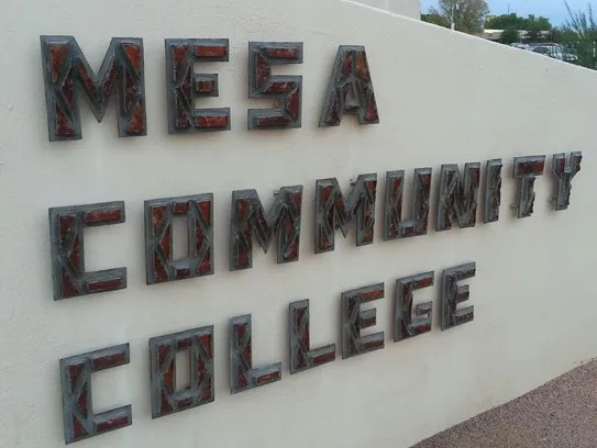 What is the state of higher education in Mesa Gilbert