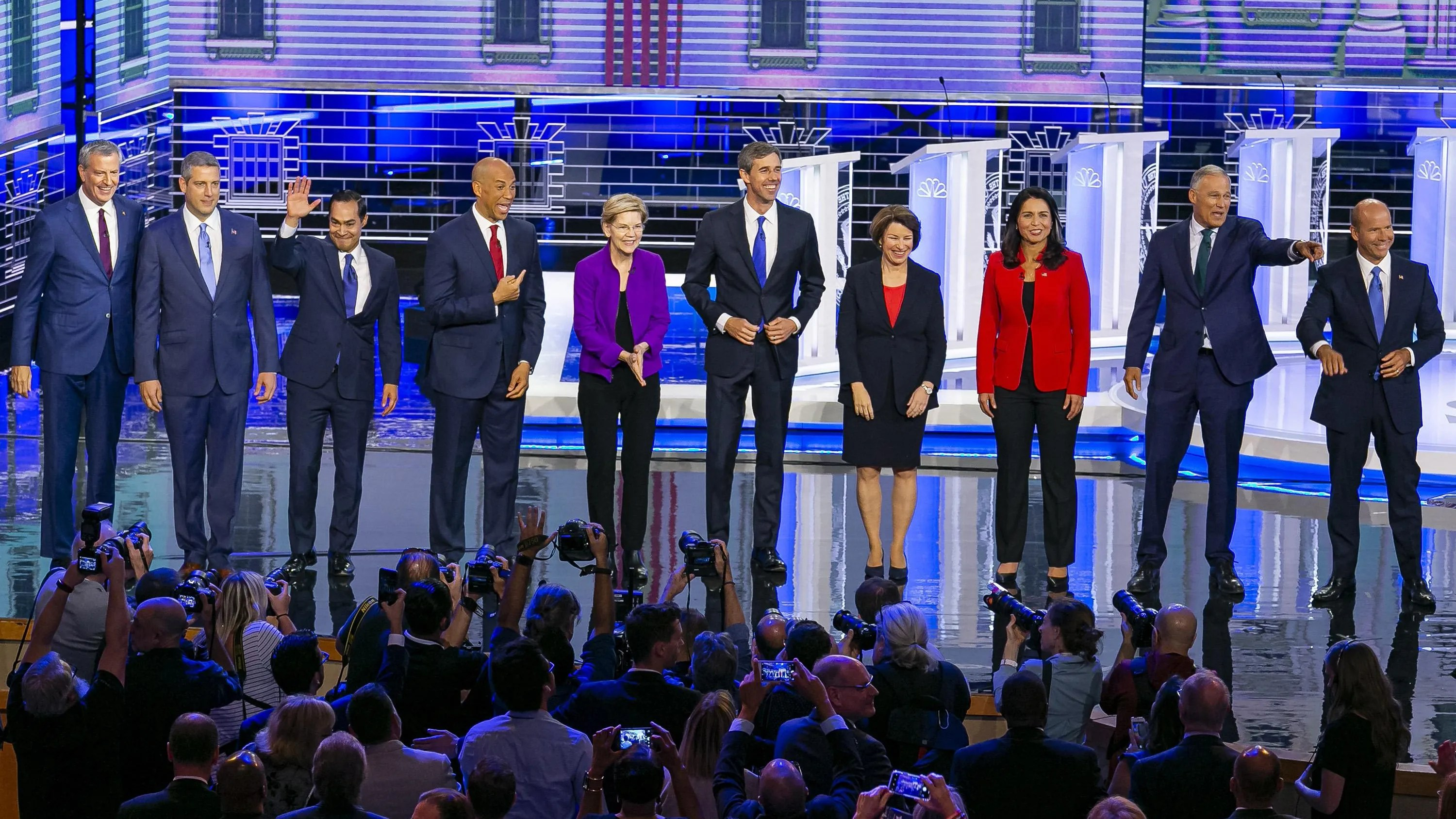 Watch Live Second Group Of Democratic Presidential