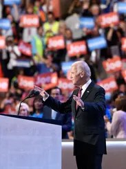 Vice President Biden speaks at the Democratic convention