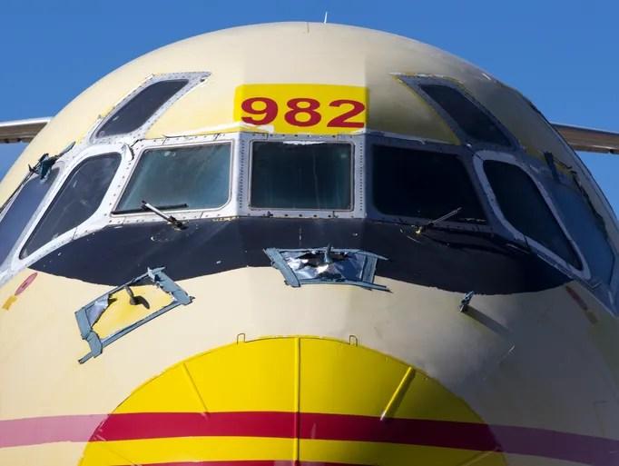 A DC-9 at Pinal Airpark in Marana, Arizona.
