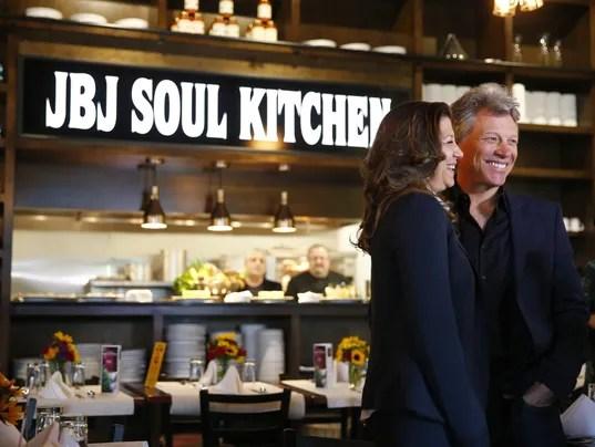 Shop Red Bank benefit Bon Jovi Soul Kitchen