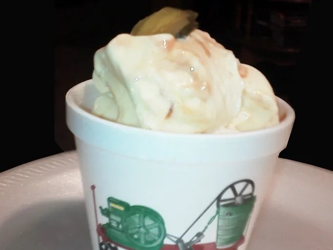 BBQ Pickle Ice Cream