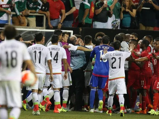 Soccer: Gold Cup-Panama vs. Mexico