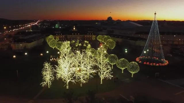Gaylord Opryland Christmas 2017 Incredible Lights