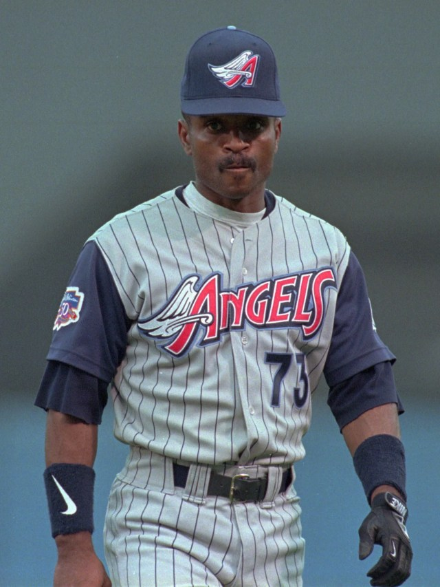 The wings just never worked on these Anaheim Angels uniforms.