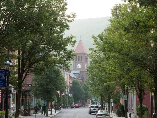 Jim Thorpe, Pa., is now thriving on tourism, including