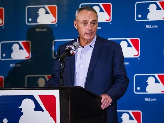 Baseball commissioner in Phoenix