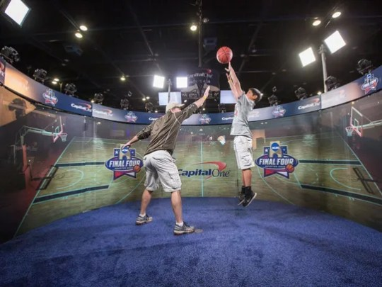 The Final Four Fan Fest is designed to engage toddlers